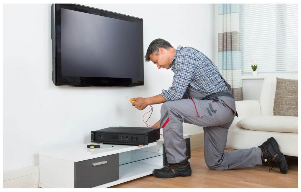 Сборка и настройка телевизора (магазин ЕВРОПА-ТВ)