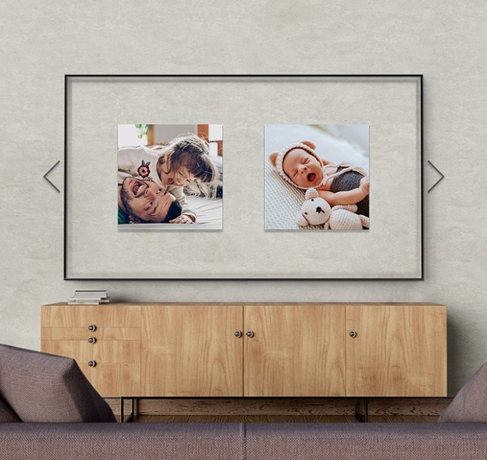 Decorate your space with your favorite photos